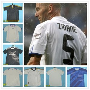 Retro real Madrid jerseys vintage 00 02 03 04 05 06 07 ZIDANE BECKHAM Fabregas RONALDO CARLOS RAUL Robben Bale Benzema Figo Kaka Owen hot