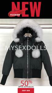2020 Top Canadá Mujeres Trillium Femme Outdoors Piel Jacket Jacket HIVER Grueso Cálido Cierre de ganso Abajo Abrigo Espesor Footrure Chaqueta con capucha