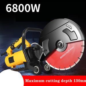 220V 6800W parete Chaser Concrete elettrica macchina di taglio Groove Sega macchina di pietra
