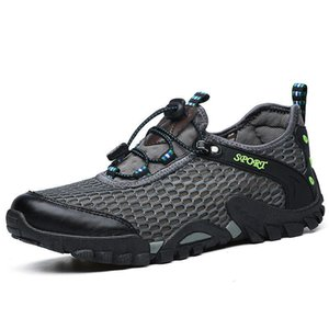 2020 Summer New Style Men Travel Hiking Shoes Hollow out Large Size Hiking Shoes Outdoor Upstream