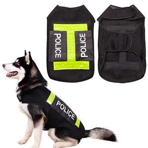 Große Hund Polizei Sicherheit Save Life Jacket Warnweste Hund Erhalter Mantel-Kleidung Heimtierbedarf Hogard
