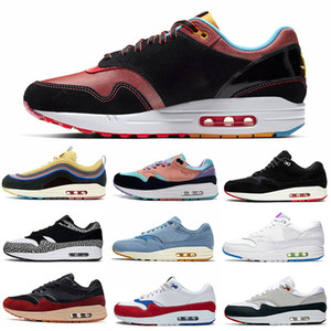 nike air max 1 Nuove scarpe da corsa per uomo Donna classic 1 Premium Sc Jewel University Blu Bianco Rosso Nero Scarpe da ginnastica da uomo di design taglia 36-45