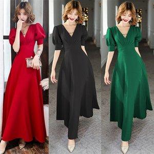 Spot trend Bankett toast Kleidung 2020 Herbst und winter würdige Braut brautkleid lange temperament war dünnes Kleid