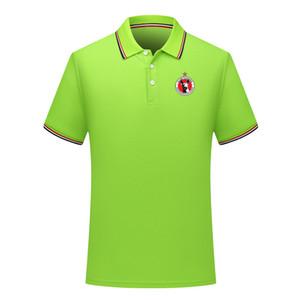 2020 Clube Tijuana mens Polos de futebol de manga curta Polo T-shirt ativo camisa pólo de Futebol Esporte Polo polos de futebol de verão de Men Jerseys