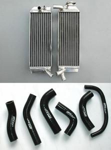 Aluminium Radiateur + silicone flexible pour XR650 XR650R XR 650R 650 XR 650 R 2000-2007 00 01 02 03 04 05 06 07