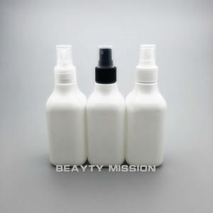 BEAUTY MIISSION 24pcs lot 200ml white square plastic spray pump bottle R24 Empty cosmetics bottles 200 cc PET spray bottles
