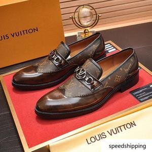 A8 luxe en cuir véritable et chaussures plates saison printemps et automne métal enserre femmes chaussures hommes et femmes conçoivent talon plat unique