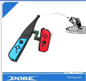 Dobe Formis Electronics Fishing Rod for N-swich Joy-con Fishing Rods 1pc Grae TNS-1883 Fishing Rod Drop Ship