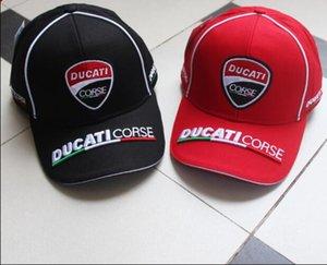 صن الجديد دوكاتي للدراجات النارية ركوب باركور كاب مطرز قبعة بيسبول الصيف فان كاب