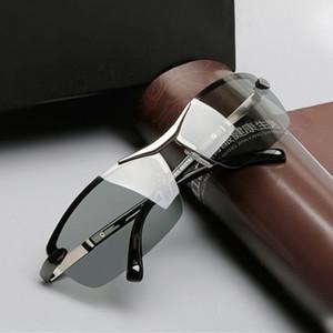 Classic Square Night Vision Glasses Men Polarized Lens Photochromic Eyeglasses Driving Goggles For Drivers Anti-Glare Men Women