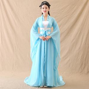 Han Suit Winter Dress Weibliche Chinesische Art Verbesserung Lose Fairy Tail Elegantes Frisches und Elegantes Bühnenkostüm