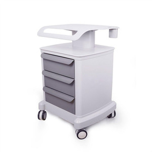2020 Professional Trolley Roller Mobile Medical Cart With Draws Assembled Stand Holder For Beauty Salon Spa HIFU Machine