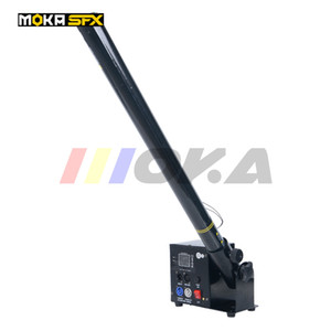 Moka MK-C21 une tête confetti Machine, Wedding Blaster Electrical DMX Control Stage Effets Papier de couleur Confetti Cannon
