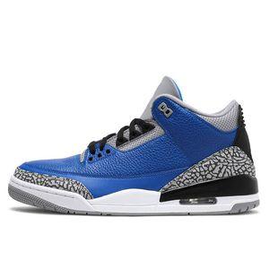 Nike Air Jordan Retro 3  Low Chutney Hyper Royal olive Blé GS Bordeaux DMP Chicago hommes femmes chaussures de basket-ball 13s sport Sneaker Chaussures taille 36-47