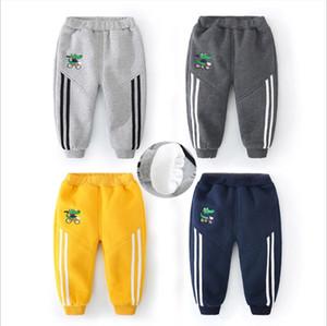 Pantalon décontracté bébé hiver velours pantalons pour enfants nouveaux marée pantalon élastique ceinture ordinaire hiver décontracté