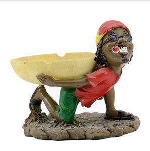 Yeni reçine Jamaikalı korsan küllük taro karpuz küllük