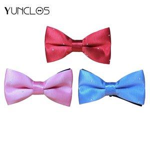 YUNCLOS Men Bowtie For Wedding&Party Banquet Suits Bowtie Casual Men Cravat Fashion Sale Accessories Groom Solid Color