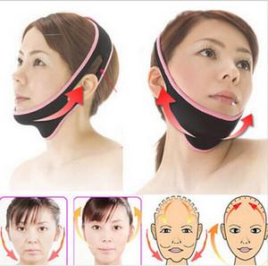 Adelgaza vendaje lifting facial mediante delgada facial V Cara Shaper Cinturón masajeador masetero Papada Cuidado de la piel-ronquido cese