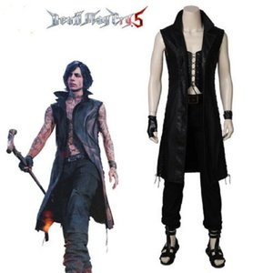 Gioco Devil May Cry 5 V Costume Cosplay Vitale Cosplay Set completo Costumi di Halloween