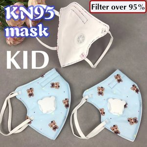 kid N95Masks Disposable face kn95Mask Protective Mouth Face Masks 95% Filtration Anti-Dust Against Droplet new one Handkerchief