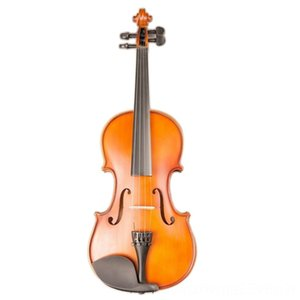 Art Stripes Maple Acoustic Violino Fiddle Stringed Instrument with Full Accessories for Violin Strings Beginner Students Violin