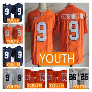 2019 Jugend Clemson Tigers Jersey Kid 9 Travis Etienne Jr. 13 Hunter Renfrow Penn State McSorley Saquon Barkley Weihnachtsgeschenk Weihnachtsgeschenk