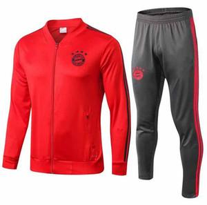 2019 Munich VIDAL RIBERY SANCHES LAHM soccer jackets 19 20 LEWANDOWSKI MULLER ROBBEN BOATENG ALABA training suit football jacket tracksuit