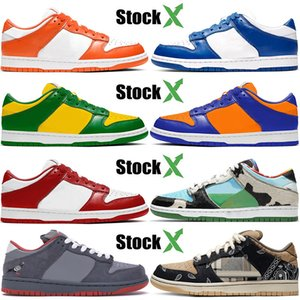 Top Quality Designer 2020 nike SB Dunk Low New Syracuse Kentucky Brazil SP Champ Colors Men Women Chunky Dunky Sport Designer Sneakers 36-45