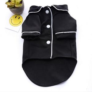 개를위한 새로운 고급 옷 패션 개 잠옷 작은 중형 개를위한 애완 동물 의류 옷 코트 Yorkies Chihuahua Bulldogs Jacket
