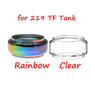 Bulbo de vidro da substituição prolongada do bulbo de vidro de Pyrex para o atomizador da capacidade do tanque 6ml do fumo TF TF / KIT 219W de MORPH 219