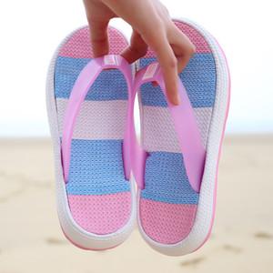 Nueva original Girar Jardín flops los zapatos del agua Mujeres antideslizante playa del verano de la aguamarina del deslizador de la sandalia de jardinería Piscina al aire libre Zapatos