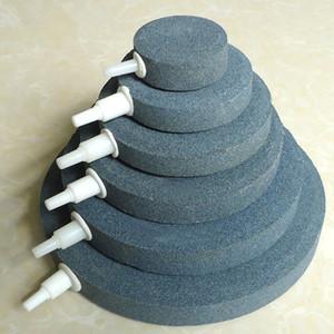 40/50 / 60/70 / 80mm Bubble Pierre pour poissons d'aquarium Aérateur Pompe réservoir hydroponique plaque d'oxygène Mini Accessoires Pompe à air