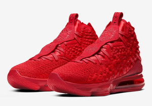 Kids LeBrons 17 Red carpet shoes sales With Box Grade school men women Basketball shoe store size36-46