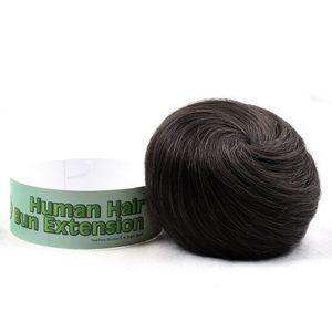 بيلا Hair® 100٪ الانسان الشعر كعكة دونات تمديد العقدة آدمي لكل من النساء والرجال لحظة حتى لا نمط كعكة قطعة # 1B، # 2، # 4، # 8، # 27، # 30