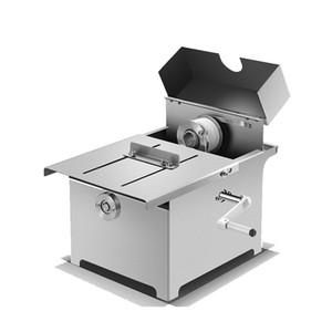 Edelstahl Wurst Bindemaschine Handbuch Haushalt Hotdog Knoten Wurst Wickelmaschine