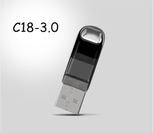 100% delle unità flash USB di capienza reale 16GB 32GB 64GB 128GB 3.0 Memory Stick metallo U Disk con USB imballaggio al dettaglio all'ingrosso DHL