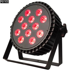 aluminum 12x18w RGBWA UV 6in1 led par light dmx stage light dj party light dyeing lights