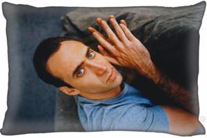 Personalizzato Nicolas Cage # 12 federa Rettangolo cerniera classico 35x45cm unilaterale o un'immagine 927op252