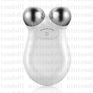 مصغرة أدوات الوجه مكركرنت مدلك العناية بالبشرة للنساء الصفحة الرئيسية الجلد الحزم الوجه التطيين جهاز مختومة مربع أبيض