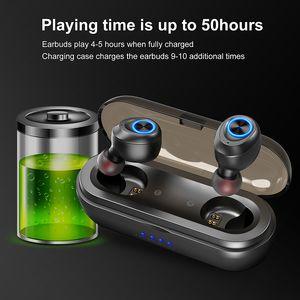 Anomoibuds Capsule Pro IP010-X 50 시간 재생 지원 AAC TWS 이어 버드 블루투스 5.0 이어폰 딥베이스 Hi-Fi 이어폰