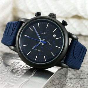 Homens Relógios de pulso de quartzo Nova chegada Todos os subdials Trabalho AR Pulseira de borracha Relógio esportivo Moda Luxo Casual Wear Relógio masculino montres pour hommes