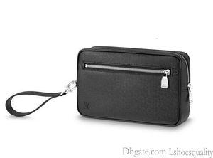 2019 Касаи M33424 сцепления Мужчины Посланника сумки плеча ремень сумка Totes Портфель Портфели Duffle багажа