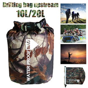 Durable 210T Polyester Taff Rowing Sport Drifting Bag Waterproof Dry Bag Outdoor Swimming Equipment Swimming Bags Canoe