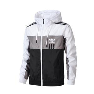 vente chaude Hommes nouveau luxe Vestes Manteau de luxe Sweat-shirt à capuche manches longues sport d'automne Zipper coupe-vent Vêtements Hommes Hommes Vestes