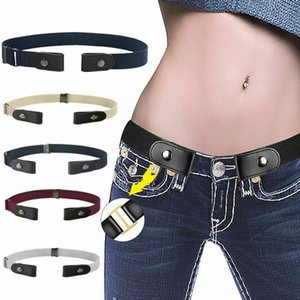 Boucle de ceinture gratuit Pas boucle extensible taille élastique ceinture pour les femmes Hommes Pas Hassle Ceinture Invisible Ceinture CA11244 600pcs