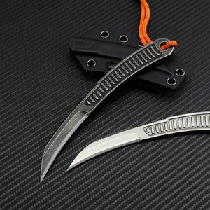 скорость небольшой прямой нож 440C прямой фиксированный клинок тактическая самооборона EDC нож кемпинг охота оборонительный knifeOutdoor knif