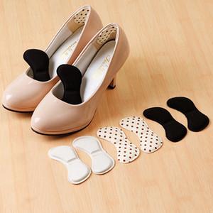 Прочные утолщаются пятки наклейки задняя нога носить наклейку высокие каблуки мягкие противоскользящие 4D пены памяти каблуки наклейки аксессуары для обуви