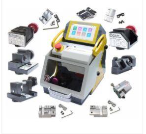 Melhor 2019 mais novo SEC E9 12 Grampos CNC Key automática máquina de corte Para Carro Chaves da casa Chaves Better Than slica I80 Key Máquina