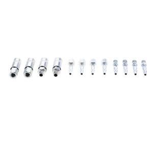 12 adet Hava Hattı Hortum çoğaltıcı Car için 1/4 '' BSP Konu Connector takılması