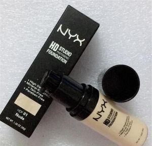 NYX HD Studio Пудра-фотогеник для тонального крема для макияжа NYX Liquid Face Make up 6 цветных 1.26 унций 36 г косметики